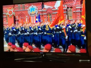 Russian V day parade 1